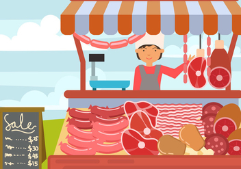Charcuterie Vector - Free vector #442281
