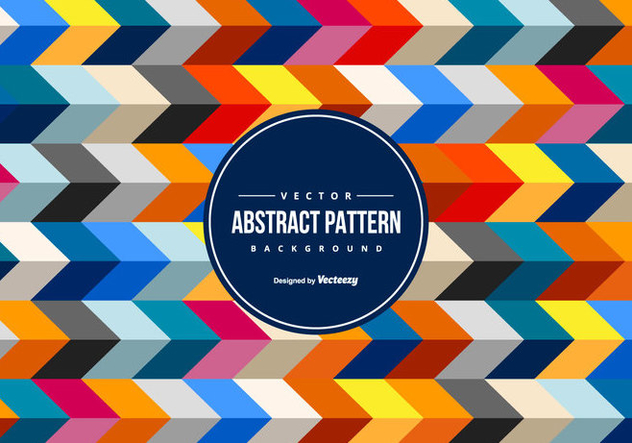 Colorful abstract Chevron Background - Free vector #442501