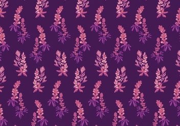 Bluebonnet Pattern Vector - бесплатный vector #442921