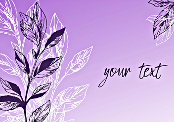 Purple Romantic Background Design - vector #442981 gratis