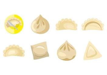Free Chinese Dumplings Vector - бесплатный vector #443341