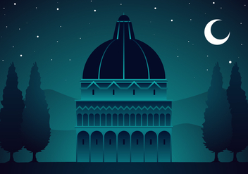 Night Of Tuscany Free Vector - бесплатный vector #443561