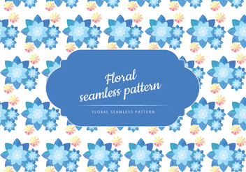 Vector Watercolor Seamless Pattern - vector gratuit #443651