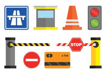 Toll Vector Icons Set - Free vector #443681
