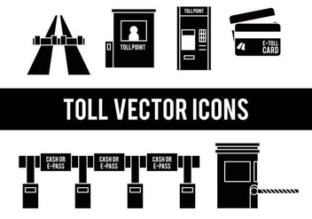 Toll vector icons - бесплатный vector #443701