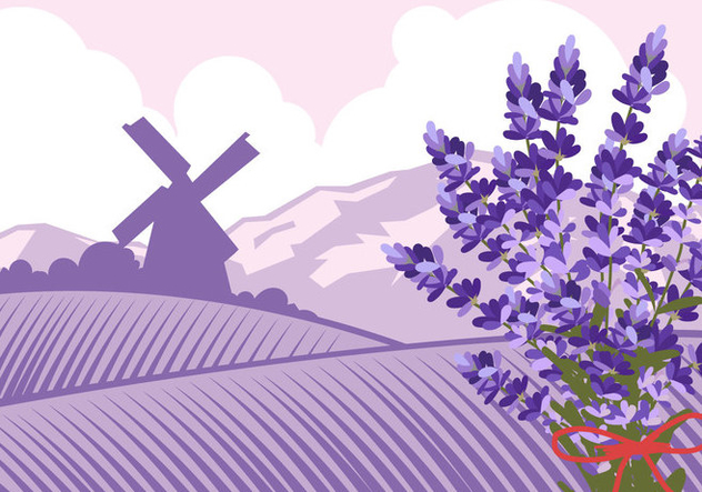 Bluebonnet Valley - vector gratuit #443871