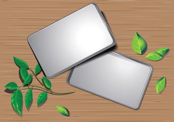Empty Metal Tin Can - vector gratuit #444491