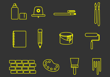 Graphic Tools - vector gratuit #444611