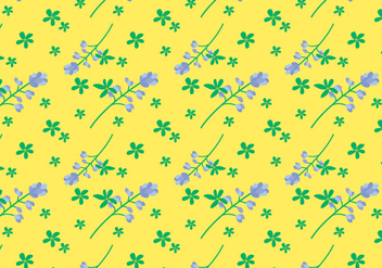 Bluebonnet Flower Pattern - бесплатный vector #444641