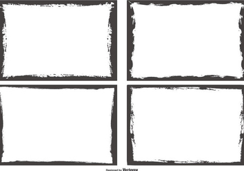 Grunge Style Photo Edges - Free vector #445041