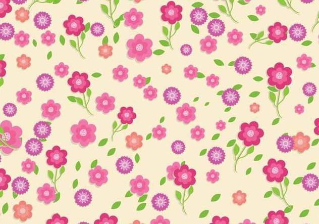 Ditsy vector background - vector gratuit #445151