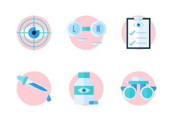 Free Outstanding Eye Test Vectors - vector #445231 gratis