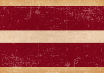 Grunge Flag of Latvia - vector gratuit #445281