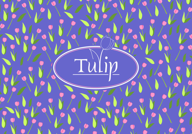 Tulip Disty Pattern Free Vector - vector #445351 gratis