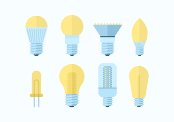 Free LED Lights Vector Pack - vector #445421 gratis