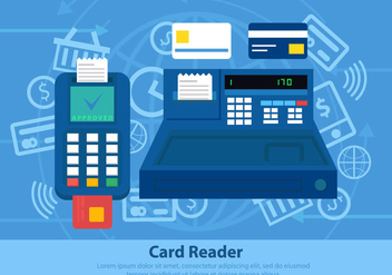 Card Reader Payment System - Free vector #445441