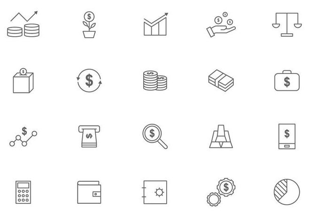 Market and Financial Benefits Vectors - Free vector #445481