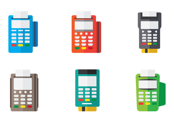 Card Machine Icon - vector #445741 gratis