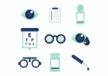 Free Eye Doctor Vector Icons - Free vector #445861