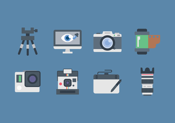 Free Photographer Icon - Kostenloses vector #445911