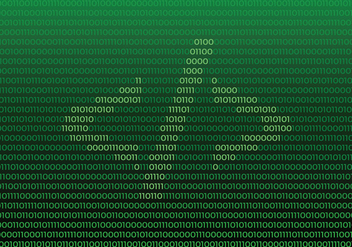 Source Code Symbol On Binary Number Background - vector #445951 gratis