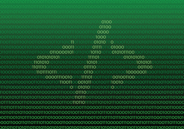 Source Code Symbol On Binary Number Background - бесплатный vector #445951