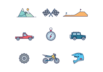 Off Road Adventure - Free vector #446301