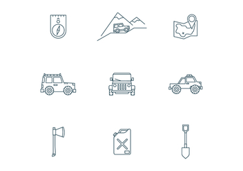 Off-Road Trip - vector #446311 gratis