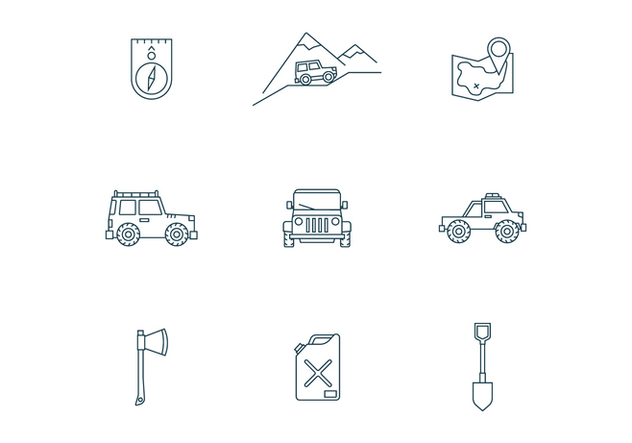 Off-Road Trip - Free vector #446311