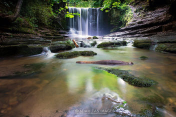 Nant Mill waterfall - image #446761 gratis