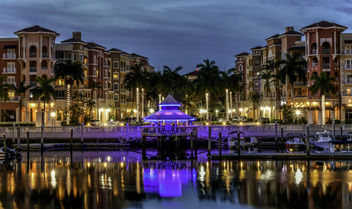 Night Time on Naples Bay - Free image #446961