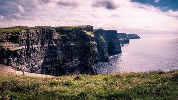 Cliffs of Moher panorama - Clare, Ireland - Landscape photography - image gratuit #447371