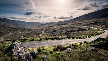 Healy Pass - Co. Cork, Ireland - Landscape photography - Kostenloses image #449381