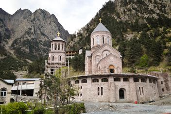 Church in mountains - Free image #449601
