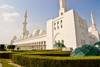 Sheikh Zayed Grand Mosque - image gratuit #449641