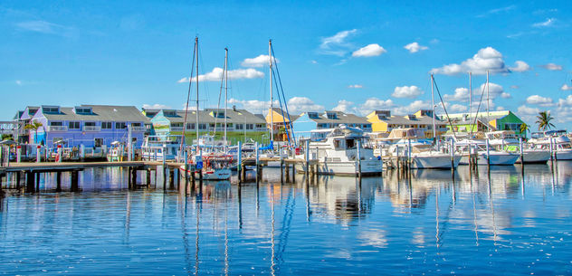 Harbor Reflections - Free image #450381