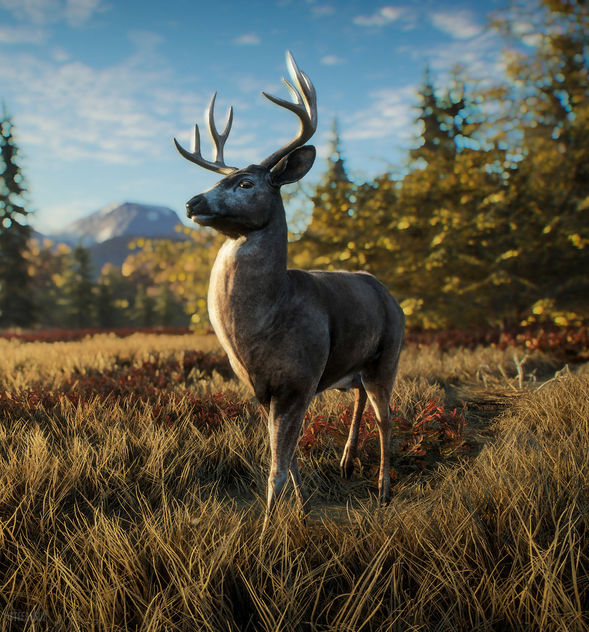 TheHunter: Call of the Wild / David the Deer is Curious - Free image #450581
