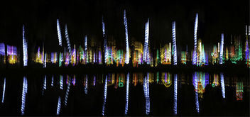 Holiday Lights Reflected - image gratuit #450681