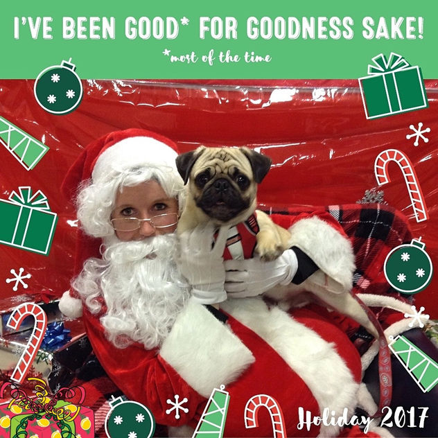 Boo Lefou's First Photo With Santa! - image gratuit #450851