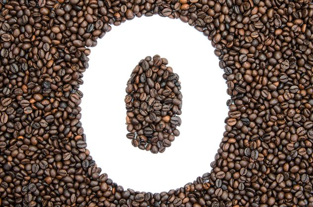 Alphabet of coffee beans - Free image #451911