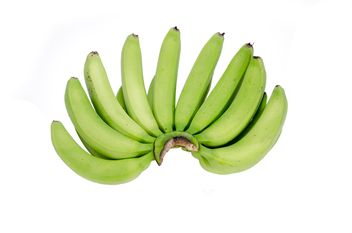 Bunch of green bananas - Kostenloses image #452571