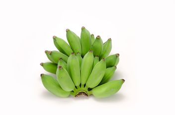 Bunch of green bananas - Kostenloses image #452581