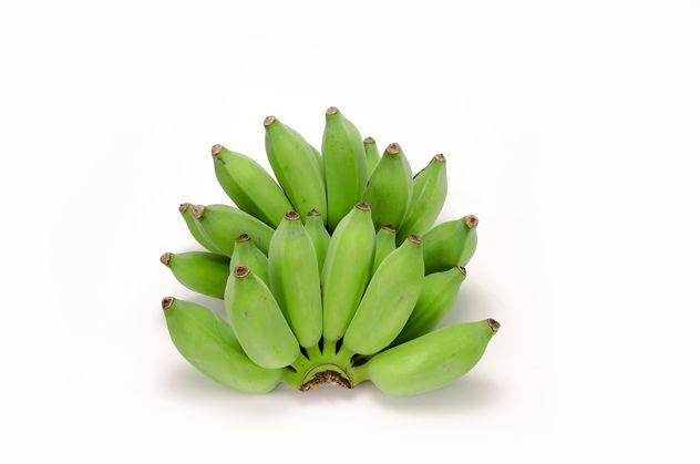 Bunch of green bananas - image #452581 gratis