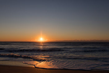 Sunrise on the Beach - Kostenloses image #452661