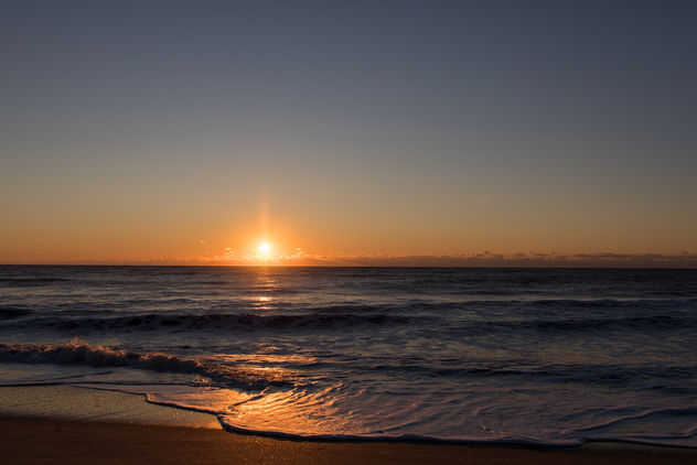 Sunrise on the Beach - image gratuit #452661
