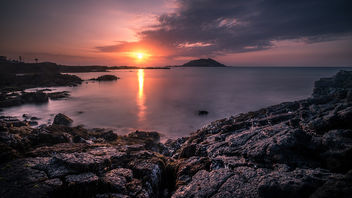 Sunset in Jeju Island - South Korea - Seascape photography - Free image #453191