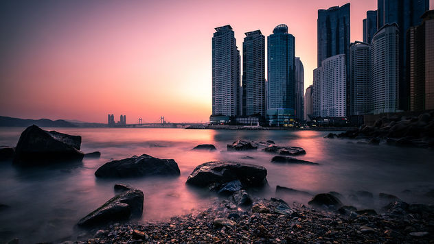 Dongbaek Park - Busan, South Korea - Seascape photography - бесплатный image #453281