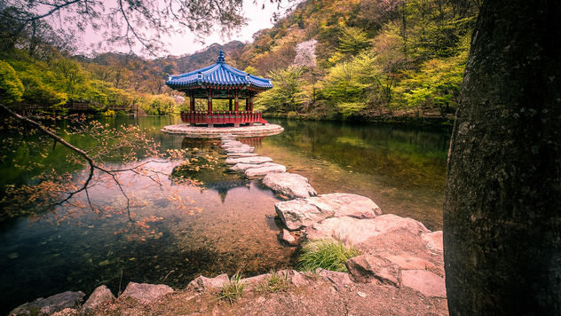 Feather pavilion - South Korea - Travel photography - бесплатный image #453381