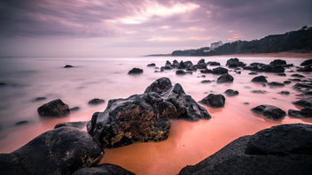 Jungmun Saekdal Beach - South Korea - Seascape photography - Free image #453541