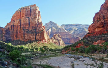 Sunrise in Zion Canyon, UT 2014 - Free image #453601